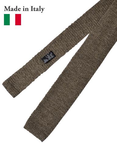 ニットタイ/イタリア製