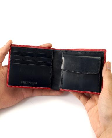 二つ折り財布/ブライドルレザー