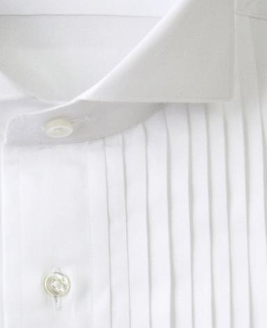 TOKYO FORMAL PLEATED DRESS SHIRT