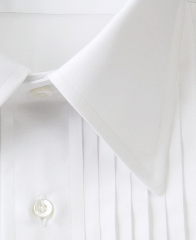 TOKYO FORMAL - PLEATED DRESS SHIRT