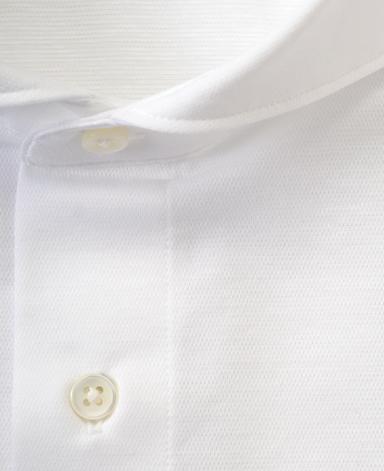 36ゲージニットシャツ/コットンリネン