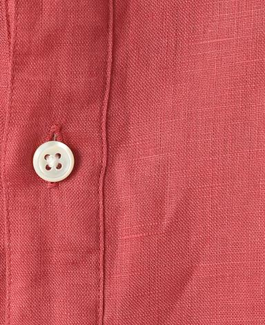 亚麻休闲衬衫