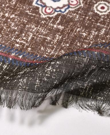 棉麻混纺春夏季围巾