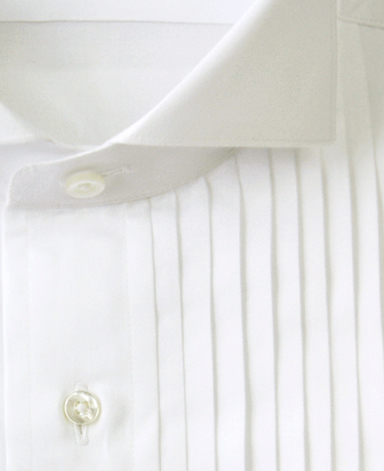 NEW YORK FORMAL - PLEATED DRESS SHIRT