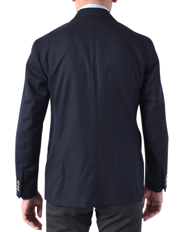 ITALIAN WOOL DOUBLE-BREASTED JACKET (METAL BUTTON)