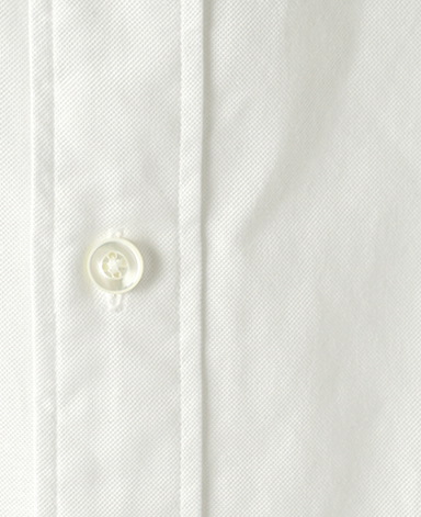 カジュアルシャツ(ボタンダウン)/グレアム・マーシュ イラスト刺繍入り