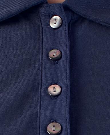 ポロシャツ/強撚ニット