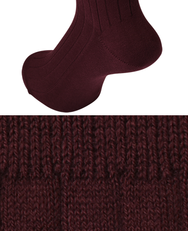 Cashmere Blend - Stretch Socks