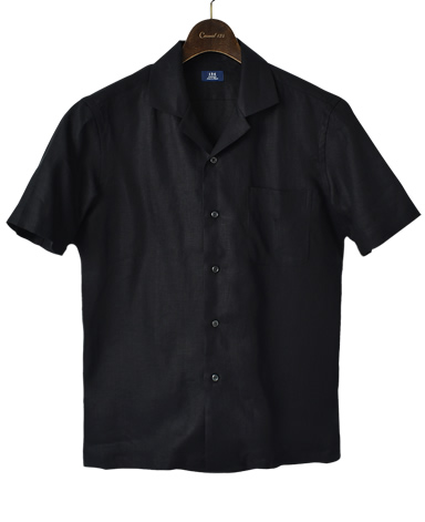 Short SleeveLINEN SHIRT