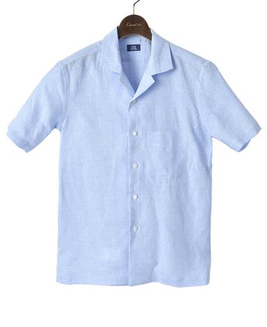 Short SleeveLINEN SHIRT
