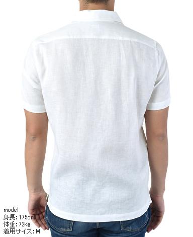 半袖シャツ/オープンカラー