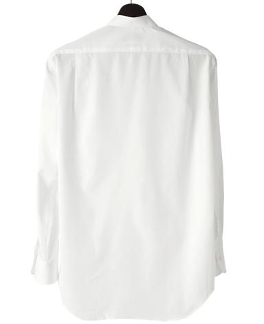 スタンドカラーシャツ/ポケットあり
