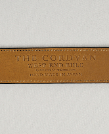 CORDVAN LEATHER BELT