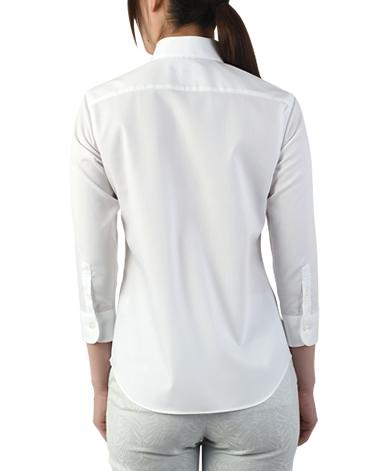 七分袖 マンハッタンクラシックシャツ/PALPA ピンポイントオックスフォード