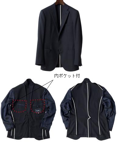 サマーウールジャケット