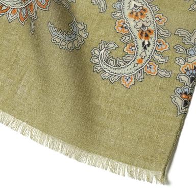 羊毛印花 围巾