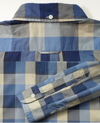 VINTAGE IVYシャツ/シャドーチェック