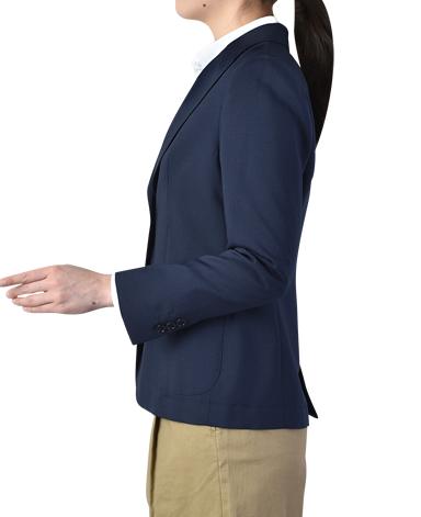 ピークドラペルジャケット