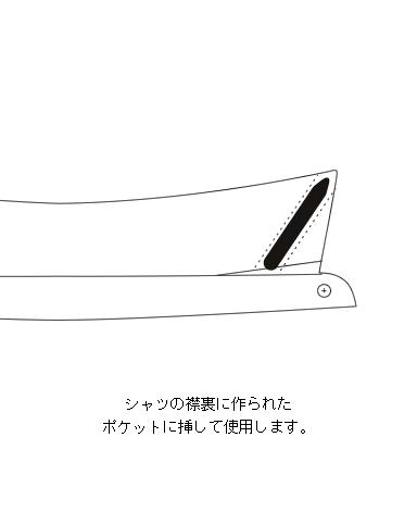 カラーステイ[1](フォルテルミラー)/50mm/3セット(6本入)