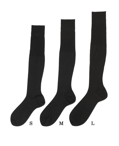 Wool High Gauge Socks