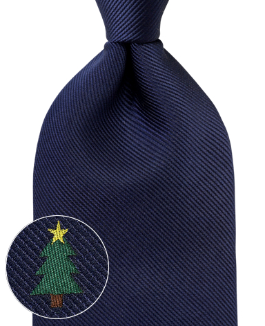 ネクタイ/Christmas ワンポイント