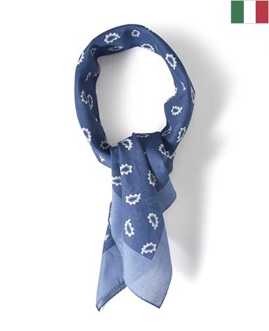 スカーフ(ペイズリー)/平織り