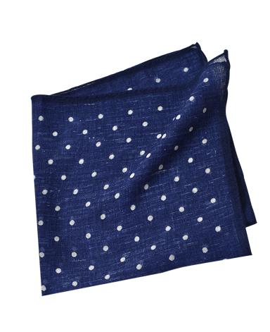 ウールポケットチーフ/イタリア製