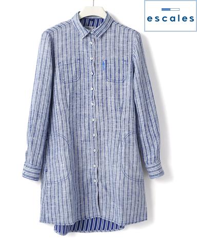ESCALES/ロングシャツ