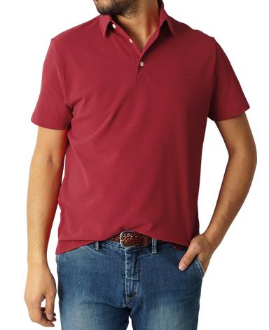 強撚半袖ポロシャツ/ICE TWIST