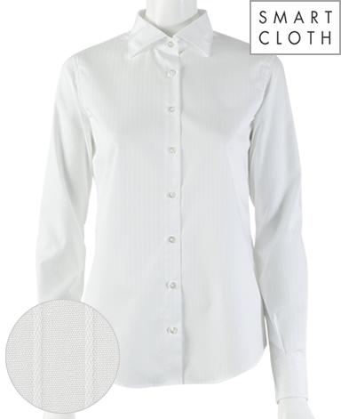 スリムベーシックシャツ/ドビーストライプ