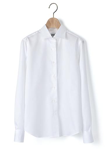 マンハッタンクラシックシャツ/コットンサテン
