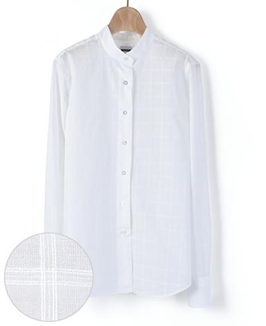 マンハッタンクラシックシャツ/ローン