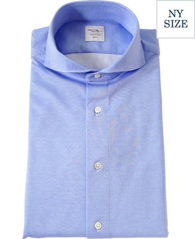 NY36ゲージニットシャツ/ダブルニット