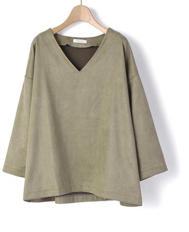 カジュアルシャツ/洗えるスエード