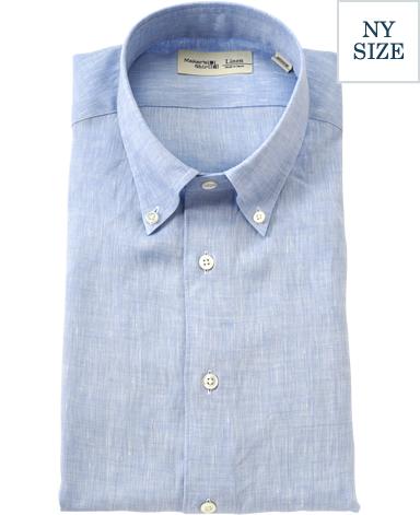 NYリネンシャツ