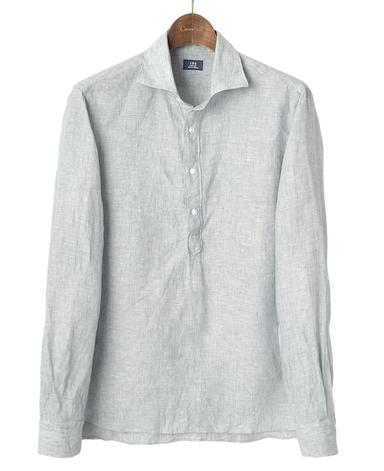 カプリシャツ/リネンプルオーバー