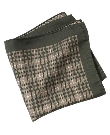 シルクポケットチーフ/イタリア製