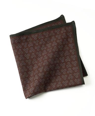 デニムポケットチーフ/イタリア製