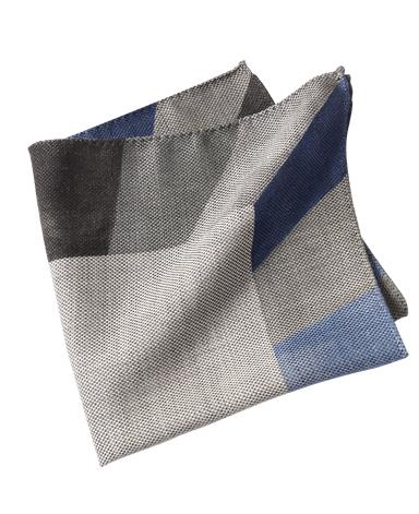 ウールシルクポケットチーフ/イタリア製