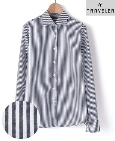 Wカフス マンハッタンクラシックシャツ/PALPA ピンポイントオックスフォード