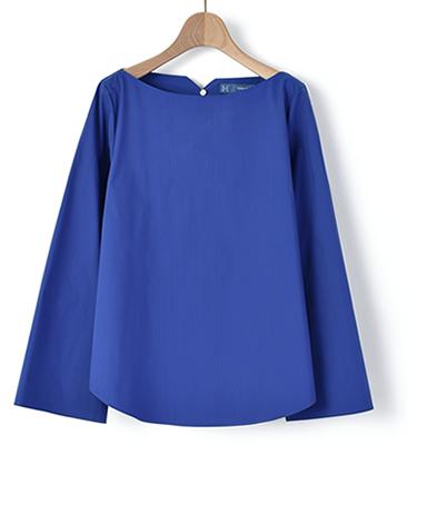 カジュアルシャツ/ストレッチブロード