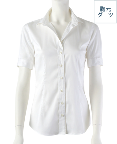 半袖パーフェクトシャツ/ストレッチ