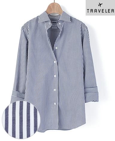 マンハッタンクラシックシャツ/PALPA ピンポイントオックスフォード