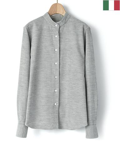 マンハッタンクラシックシャツ/インポート生地