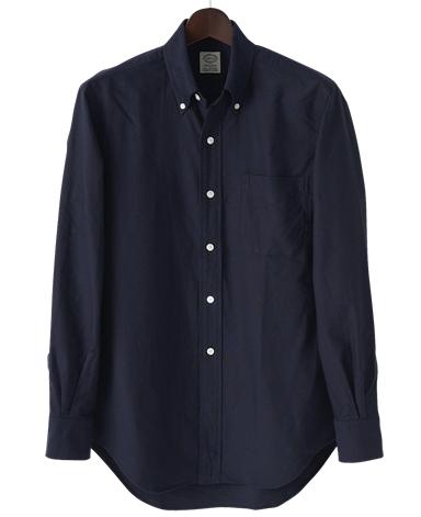 VINTAGE IVYシャツ/ネイビーオックスボタンダウン
