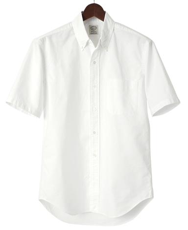 VINTAGE IVYシャツ/ハーフスリーブオックスフォード