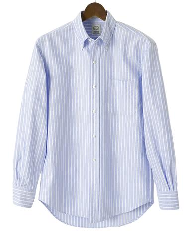 VINTAGE IVYシャツ/ブルーブレザーストライプ