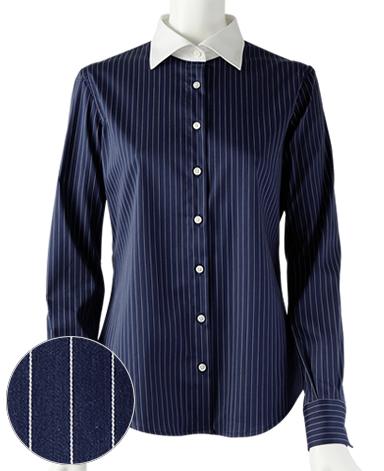 スリムベーシックシャツ/ストレッチ