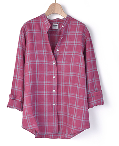 マンハッタンクラシックシャツ/リネン