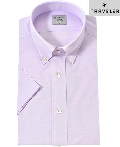 半袖カノコニットシャツ/TRAVELER